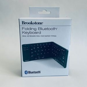 Folding Bluetooth Keyboard - Brookstone